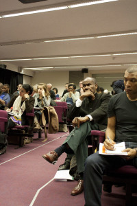 CJET Media and the Riots conference audience